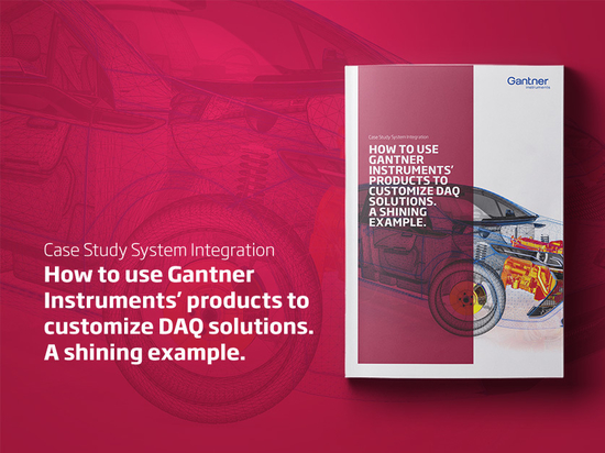 Find out how Gantner enabled a leading system integrator to develop a new product family.