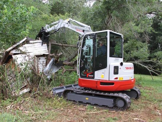 Takeuchi TB257FR Excavator