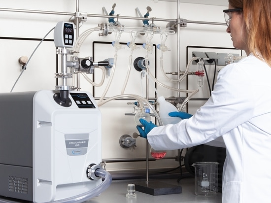 Chemically resistant and oil-free on the Schlenk line