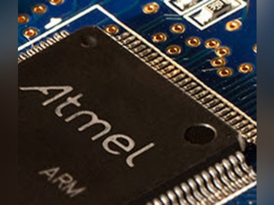 NEW: ARM microcontroller by Atmel