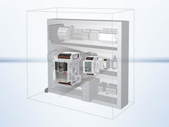 System and control cabinet components