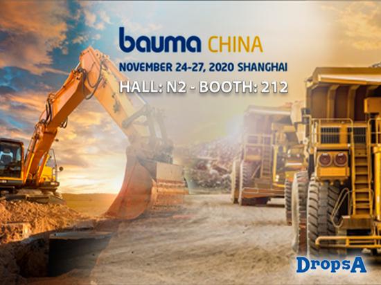DropsA China at Bauma China trade fair