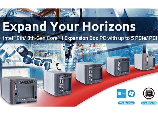 Neousys Launches Fanless Expansion Box PCs with up to 5 PCIe/ PCI, Nuvo-8000 Series