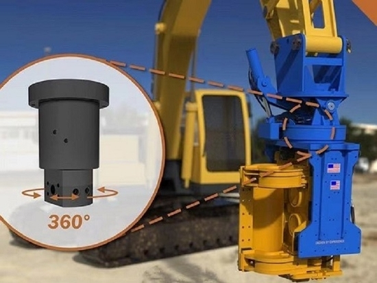 Maximize Equipment Performance & Profitability with CENO's Hydraulic Swivel Joints for Continuous 360-Degree Rotation