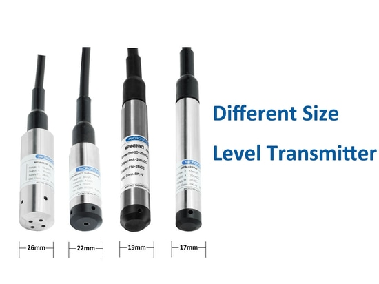 Level Transmitters with Different Diameters