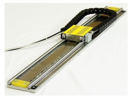 Linear servo slide
