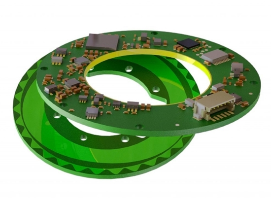 Netzer encoders feature a low profile, hollow shaft, high resolution and very low weight.