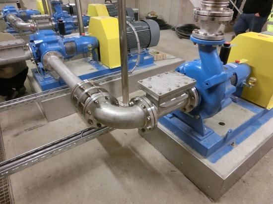 Patented Turo® TA Vortex Pumps in series