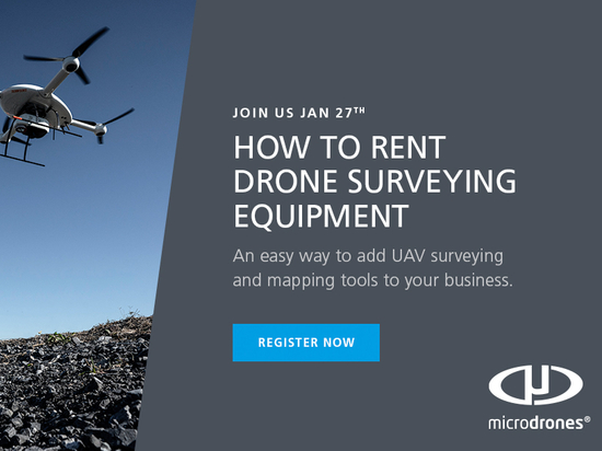 How To Rent Drone Surveying Equipment