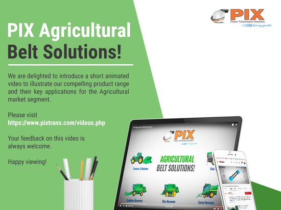 PIX Agricultural Belt Solutions!
