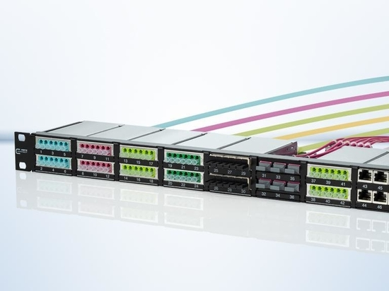 The future-oriented fiber optic solution for your data center