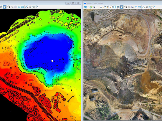 Drone-Based LiDAR at a Mine
