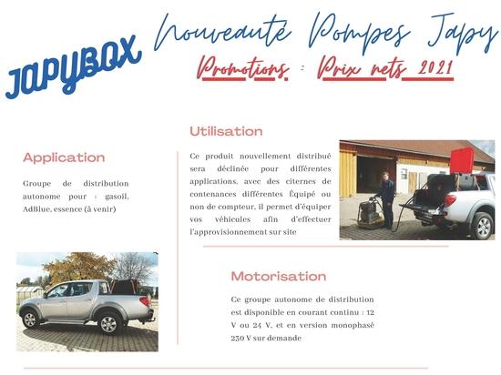 JAPYBOX - Autonomous distribution group