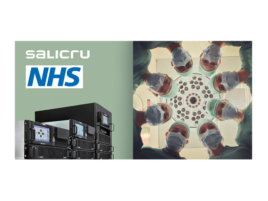 Salicru protects healthcare in the United Kingdom