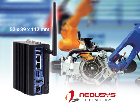 Neousys' POC-40 Extreme Ultra-compact Fanless Computers
