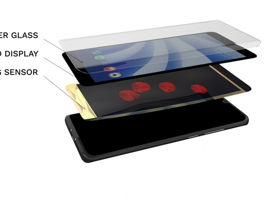 At the 2020 Consumer Electronics Show in Las Vegas, Isorg demonstrated the first smartphone equipped with a full-screen biometric sensor for scanning fingerprints.