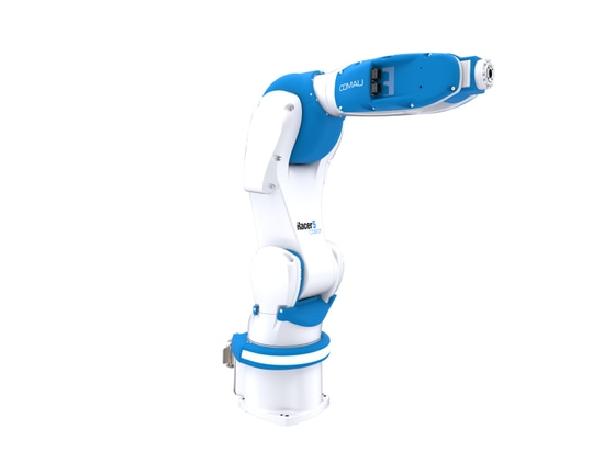 Racer-5 COBOT: A High-Performance Cobot With Industrial Speed