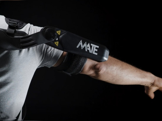 The latest version of Comau's MATE (Muscular Aiding Tech Exoskeleton) aims to provide consistent, ergonomic support for the shoulders and upper body to ease muscle fatigue and facilitate movement f...