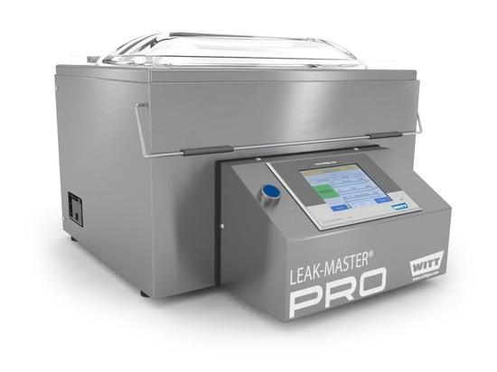 NEW: packaging leak detector by WITT-Gasetechnik GmbH & Co KG
