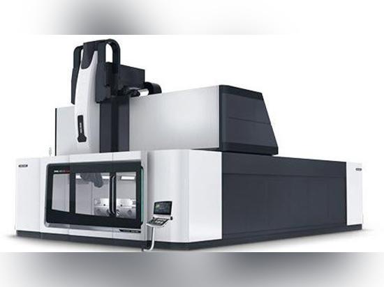 NEW: CNC machining center by DMG MORI