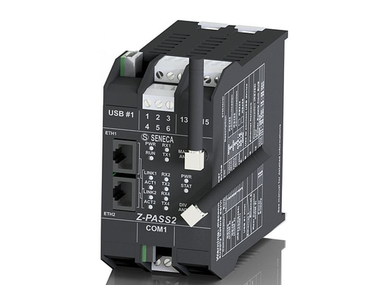 NEW: Z-PASS2-S by SENECA, local controller as remote controller