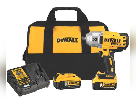 NEW: electrical impact wrench by DEWALT Industrial Tool
