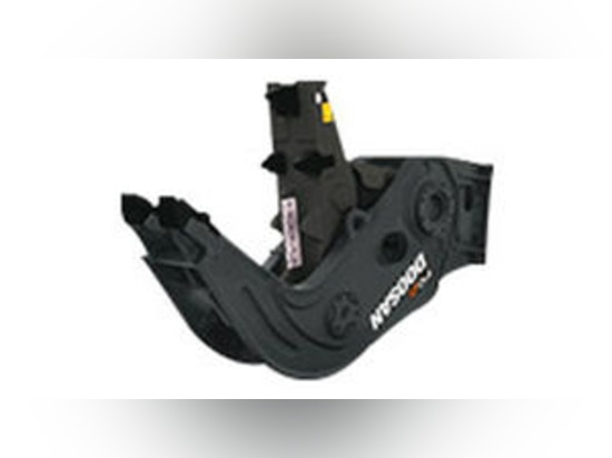 NEW: excavator concrete pulverizer by DAEWOO Construction Equipment Division