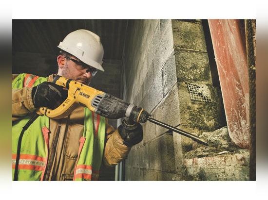 NEW: electric rotary hammer by DEWALT Industrial Tool