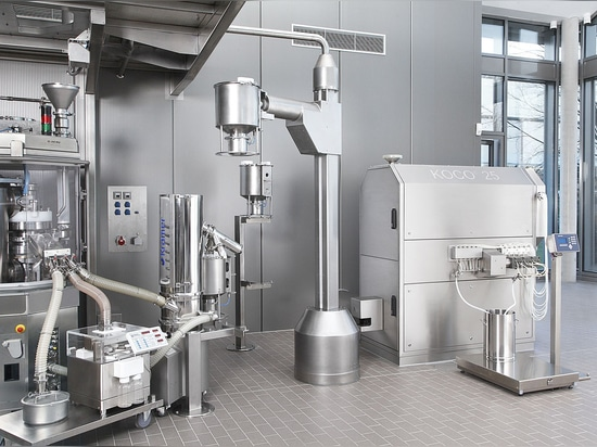 ROB 50 optimizes production processes in continuous and batch-oriented processing