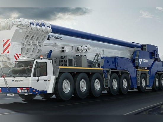 NEW: telescopic crane by TADANO FAUN