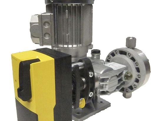 MIA EA series: metering pump with automatic flow control