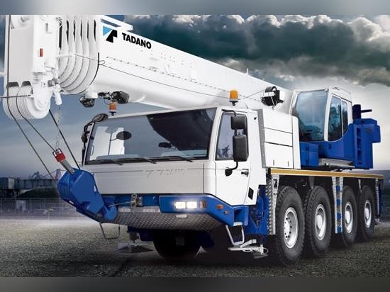 NEW: boom crane by TADANO FAUN