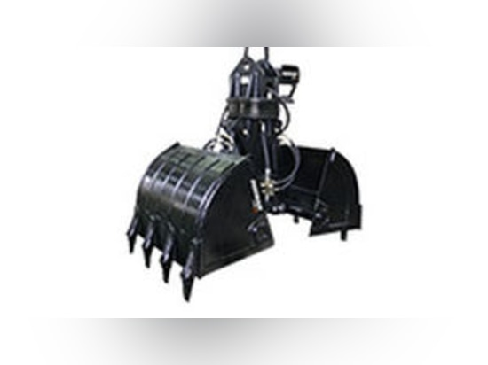 NEW: clam bucket / hydraulic by DAEWOO Construction Equipment Division