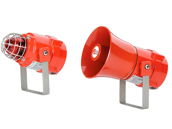 E2S introduces SIL 2 certified BEx alarm horn sounders and Xenon strobe beacons
