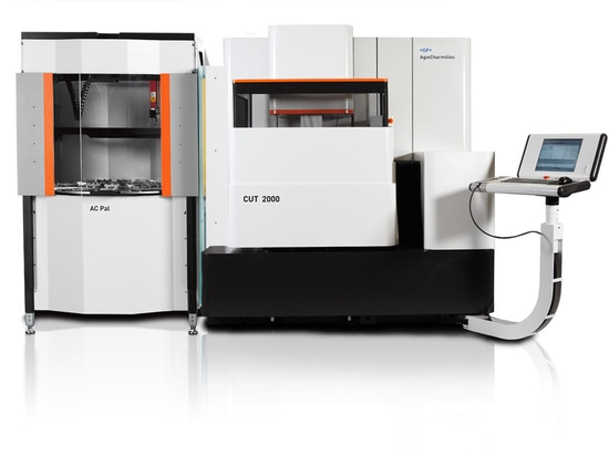 NEW: automated pallet changer by GF Machining Solutions
