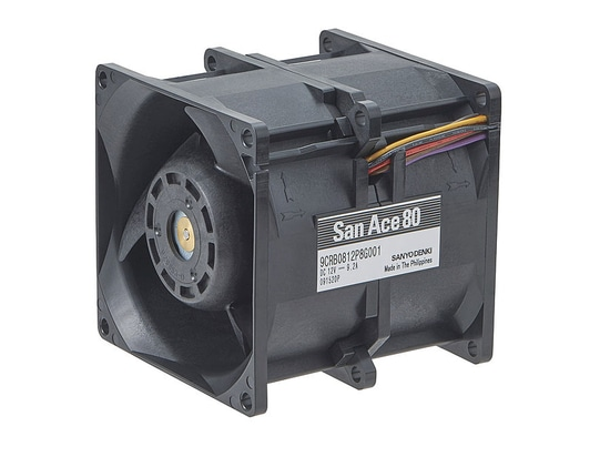 DC Axial Fan - 80x80 - 9CRB