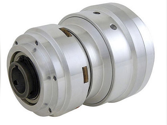 Friction combined clutch-brake unit, air-operated