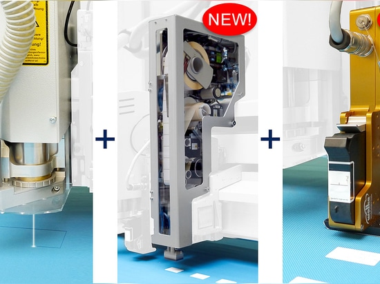 New! - Print head and labelling system