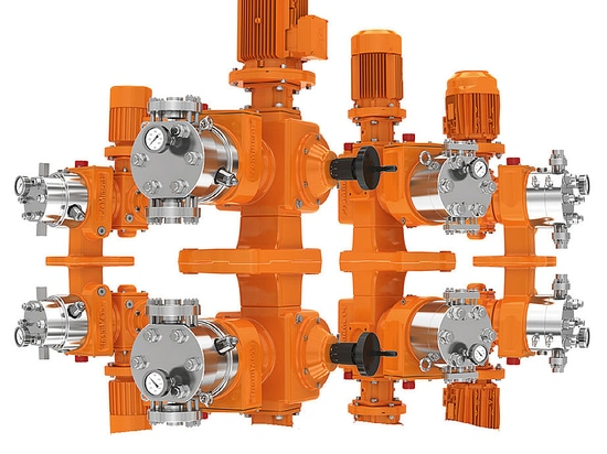 Hydraulic diaphragm metering pump Orlita® Evolution