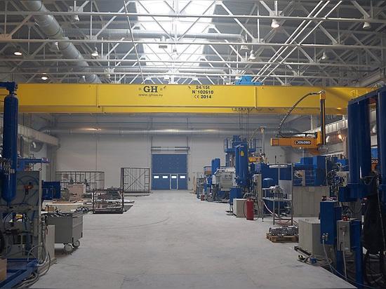 EOT cranes installed in CIE