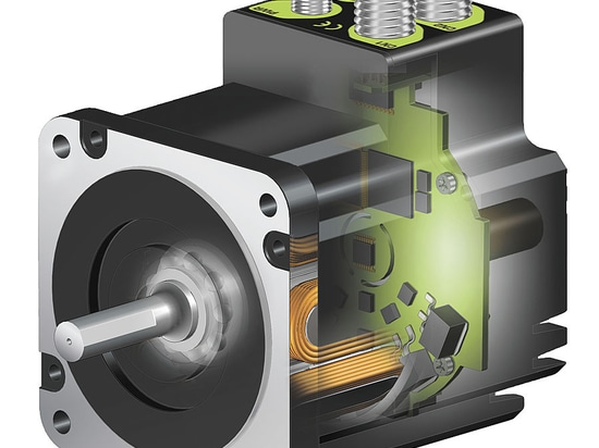 QuickStep®integrated stepper motor