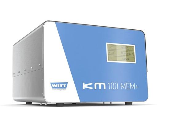 Gas mixer with remote control – new KM100-MEM+ unveiled