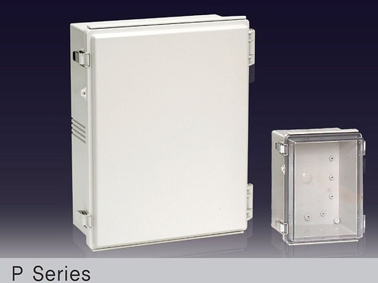IP66/67 Molded hinge type plastic enclosure