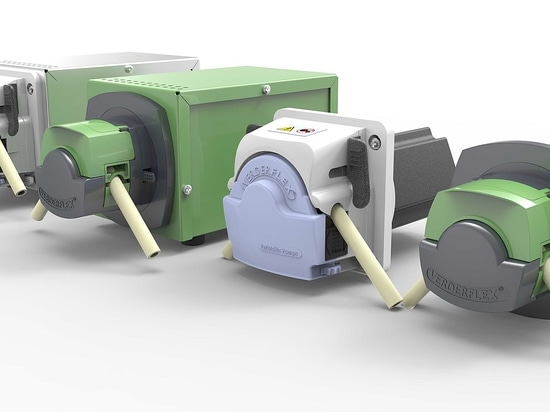 Verderflex is proud to launch its latest innovation in peristaltic pump technology, Steptronic.