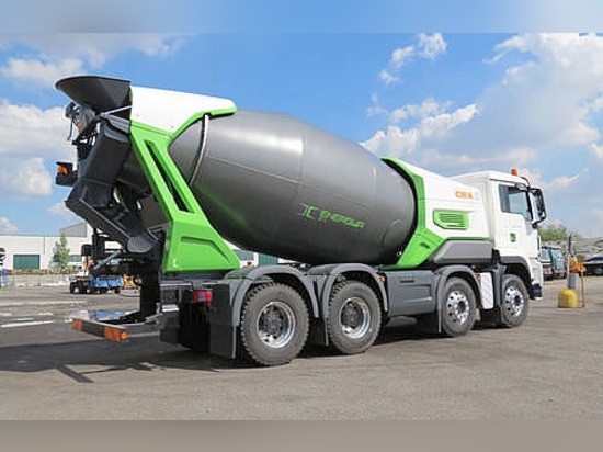 Cifa:Energya E9: the truck mixer that cares about the environment