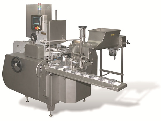Improved Filling and wrapping machine ARM for mini butter portions