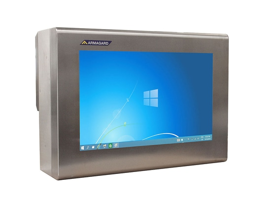 Waterproof Monitor Enclosure   Prevent Screen Downtime on the Shop Floor