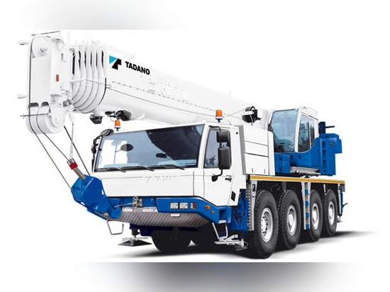NEW: all-terrain crane by TADANO FAUN