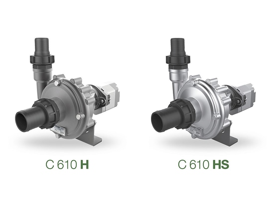 C 610 H & HS - Hydraulic centrifugal pumps for low pressure treatments