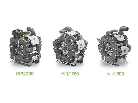 BPS 200 / 260 / 300 - New Series of Low Pressure Diaphragm Pumps